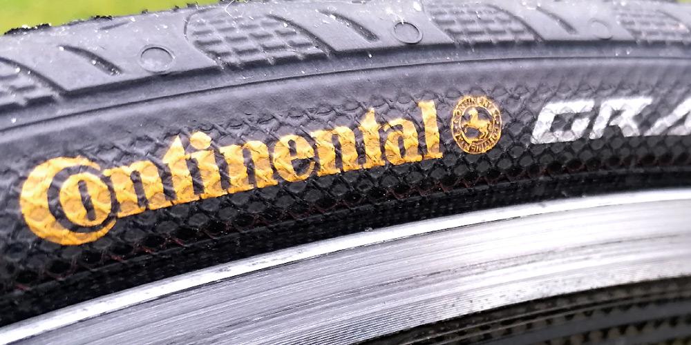 Billede af cykeldæk med punkteringsbeskyttelse